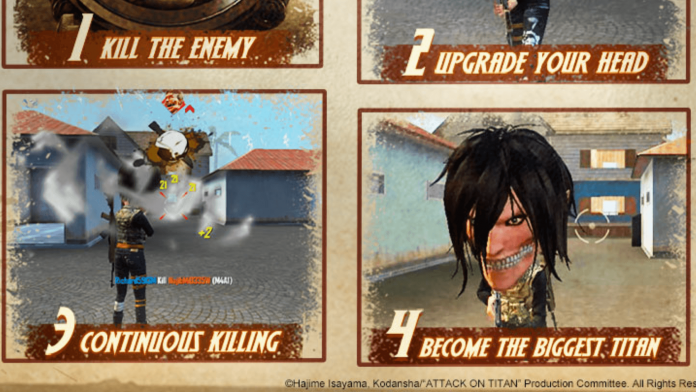Titan Attack Game mode in Free Fire
