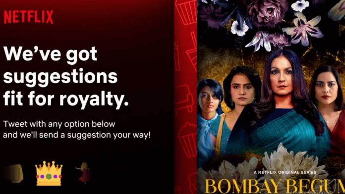 Watch online Bombay begums Netflix Web Series