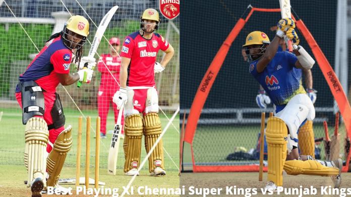 Best Playing XI Chennai Super Kings vs Punjab Kings