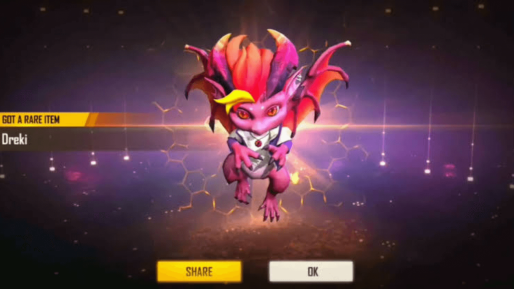 Dreki Pet from Top-Up event