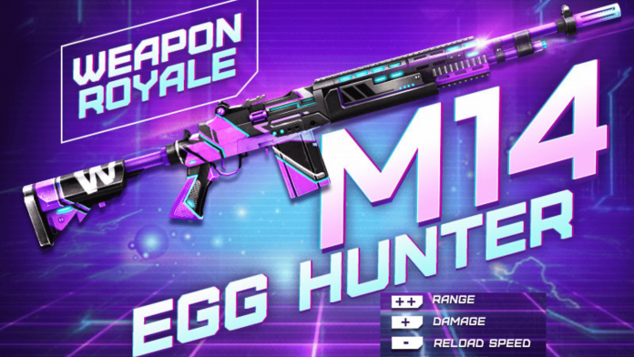 Egg Hunter M14 Skin
