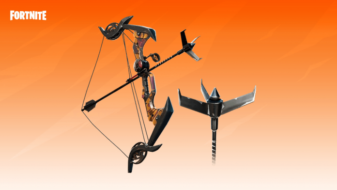 Exotic Grappler Bows in Fortnite Season 6