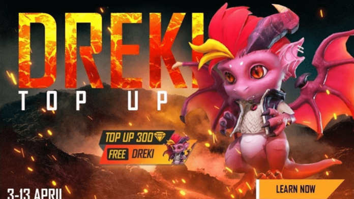 Get Free Dreki Pet from Top-Up event