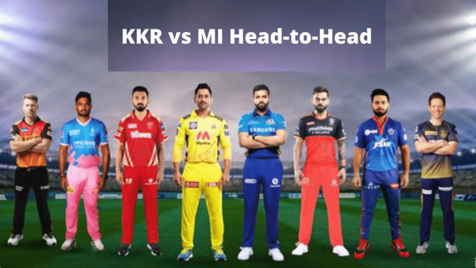 KKR vs MI head-to-head