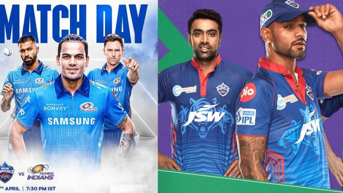 Mumbai Indians (MI) Vs Delhi Capitals (DC) Match