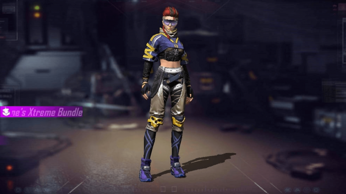 Xayne Character in Garena Free Fire
