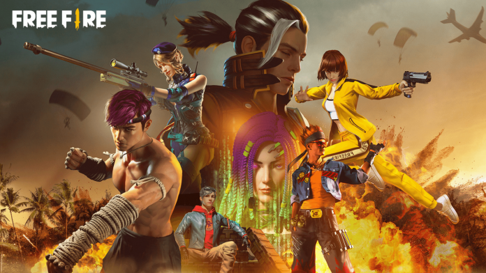 characters in Free Fire purchased with 8000 Gold Coins