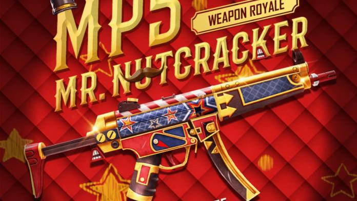 get Mr. Nutcracker MP5 Skin in Free Fire