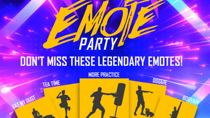 Free Fire Emote Party event and its rewards