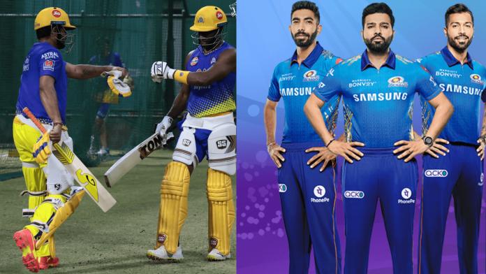 IPL 2021 match 27 MI vs CSK