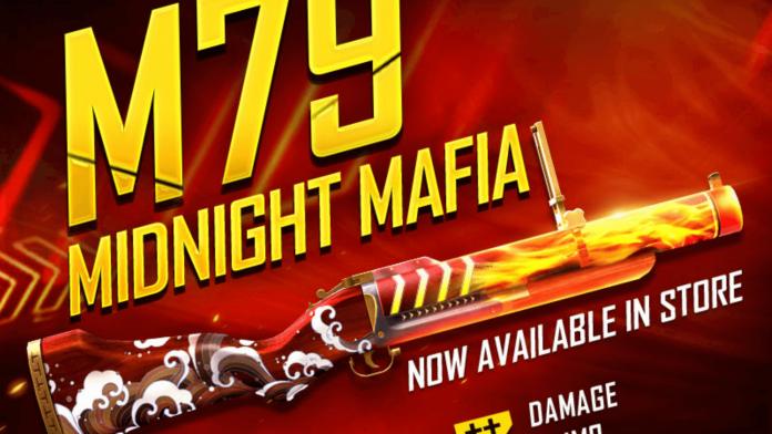 Midnight Mafia M79 Gun Skin
