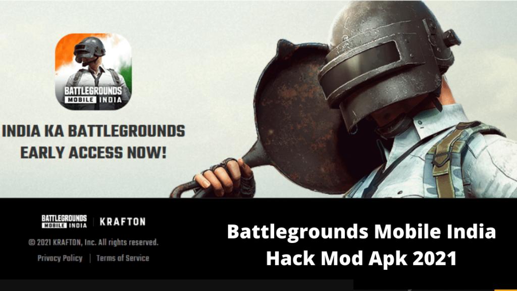 Battlegrounds Mobile India (BGMI) Hack Mod Apk 2021