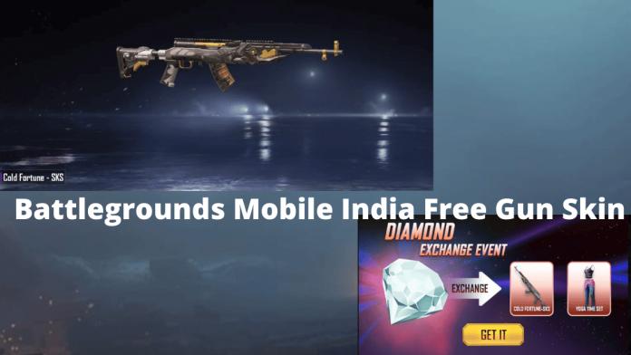 Battlegrounds Mobile India (BGMI) Free Hack Gun Skin
