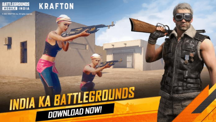 Download the new update of Battlegrounds Mobile India (BGMI)