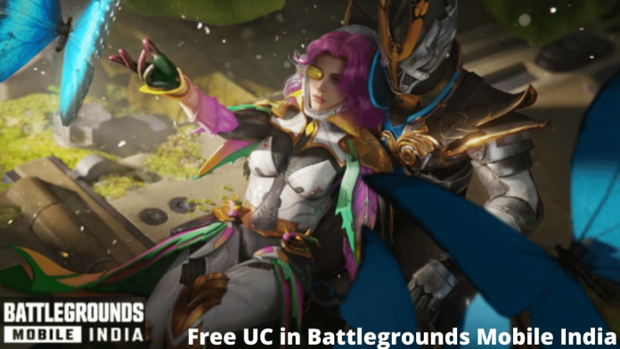 Free UC in Battlegrounds Mobile India (BGMI) without Redeem Code