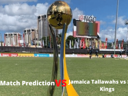 today Match Prediction Jamaica Tallawahs vs St Lucia Kings